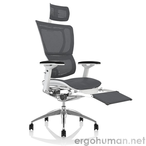 Mirus Mesh Office Chair with Leg Rest